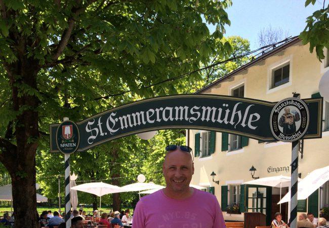 St. Emmeramsmühle / Biergarten / Parkservice / beer garden / valet parking