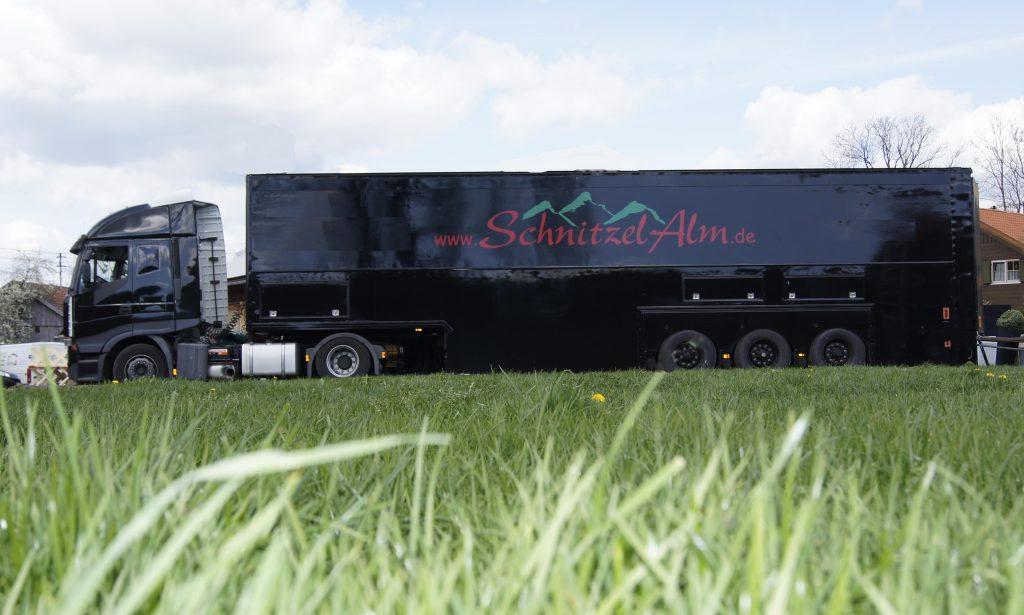 Schnitzelalm Truck