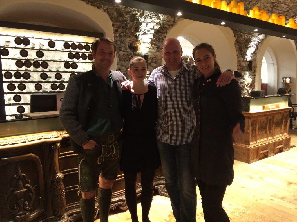 W&W mit Alois und Laura Seyrling