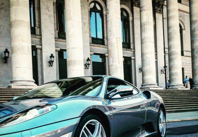 Ferrari Lamborghini Treffen Bayern