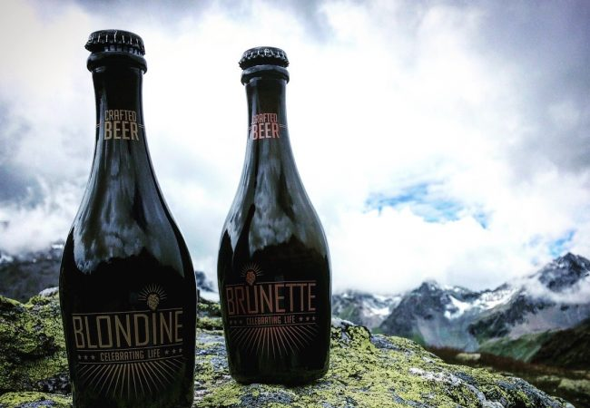 Blondine & Brunette Luxury Crafted Beer