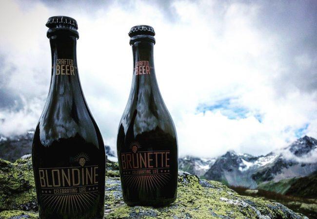 Blondine & Brunette Luxury Crafted Beer