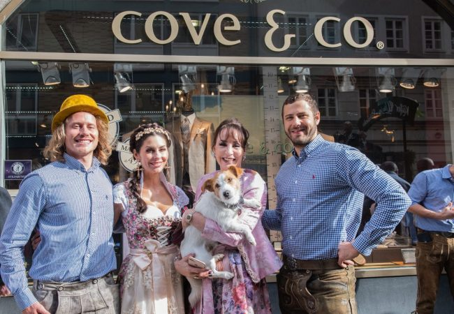 Exklusives Wiesn-Opening bei cove & co