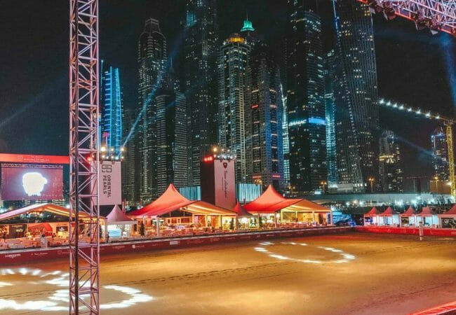 Beach Polo Cup Dubai – Lets Polo mit Skyline View