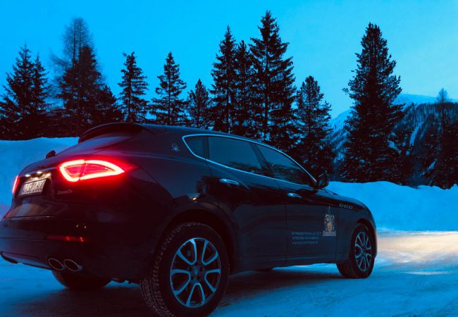 Maserati Levante – With Horsepower and style to the Snow Polo to St. Moritz