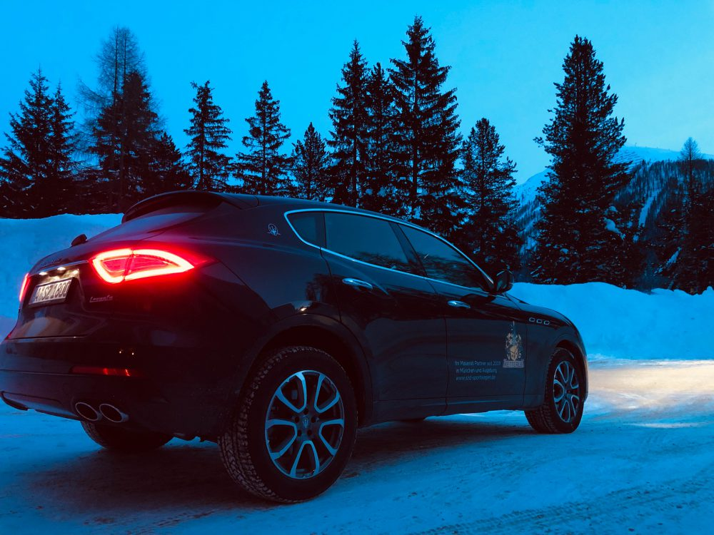 Maserati Levante – Mit Horsepower und Stil zum Snow Polo nach St. Moritz