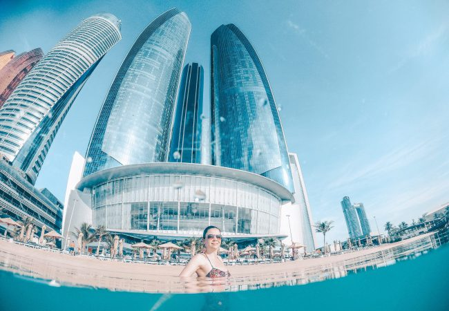 Jumeirah At Etihad Towers – Internationales Luxushotel mit Privatstrand